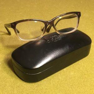 COACH Eyeglass Frames HC6089 Olive Brown Gradient